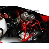 Pre-Cut Fuel/Water Line Kit Red - Blowsion 01-07-072