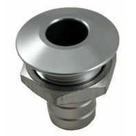 Billet Thru-Hull Water Fitting Bilge Pump Outlet (Natural) - Blowsion 04-03-028