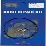 Kawasaki (Fits Many Applications) 7-Piece Carburetor Repair Kit - K&L 18-2639