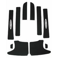 Hydro-Turf HT784 PSA Black Self-Adhesive Turf Pad Kit Yamaha XL / XLT 800 1200