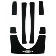 Hydro-Turf Self Ahesive Custom Pad Kits Black HT89 PSA BK RXP PRE 06