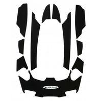 Sea Doo GTX LTD Hydro-Turf Self Ahesive Custom Pad Kits Black HT882 PSA BK