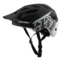 Troy Lee Designs A1 MIPS Classic Black/White MTB Helmet - Adult XS or Small