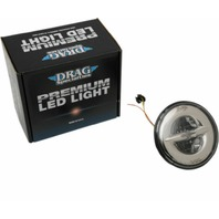 """Drag Specialties Chrome 7"""" Front LED Headlight for 14-18 Harley Touring FLHX"""