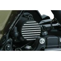 Kuryakyn 9265 Black Finned Starter Accent Engine Cover 17-18 Harley Milwaukee M8