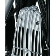 Kuryakyn 6427 Chrome Voltage Regulator Cover 2017-18 Glides/Road Kings & Trikes