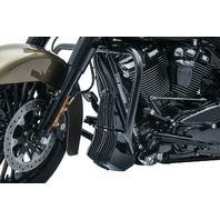 Kuryakyn 6428 Gloss Black Precision Regulator Cover for 2017-18 Harley Touring