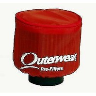 Yamaha YFZ350 Banshee Red Pre-Filter by Outerwears - 20-1400-03