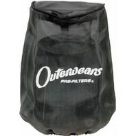 Outerwears Black Pre-Filter for K&N Air Filter RF-1037DK p/n 20-1613-01