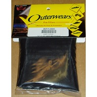 Water Repellent Black Pre-Filter Material by Outerwears - WR18BK