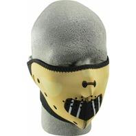 ZANheadgear Neoprene Half Mask Hannibal - WNFM038H