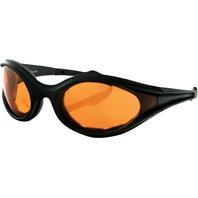 Bobster Foamerz Sunglasses w/Amber Lens ES114A