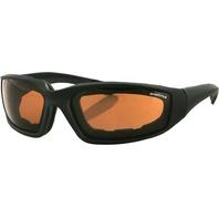 Bobster Foamerz II Sunglasses w/Amber Lens ES214A