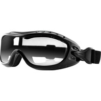 Bobster Night Hawk OTG Goggles Black w/Clear Lens- BHAWK01C