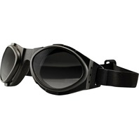 Bobster Bugeye II Sunglasses - Black w/ 3 Lenses