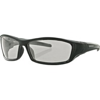 Bobster Hooligan Sunglasses - Black w/ Photochromatic Lens