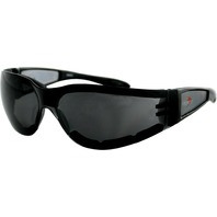 Bobster Shield II Sunglasses - Black w/Smoke Lens