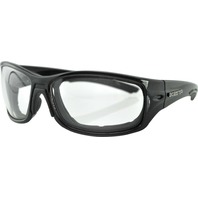 Bobster Rukus Sunglasses - Black Anti-Fog W/Photochromatic Lens