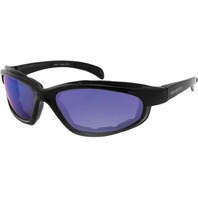 Bobster Fat Boy Sunglasses - Black w/Smoked Blue Lens