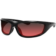 Bobster Charger OSHA Approved Sunglasses - Black w/Rose Lens - ECHA001R