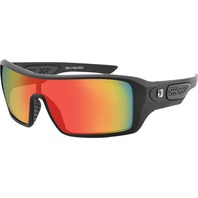 Bobster Paragon Matte Black W/Crimson Mirror Lens Sunglasses - EPAR001