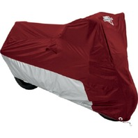 Nelson-Rigg Deluxe All Season Motorcycle Cover Maroon/Silver MC-903-02-MD