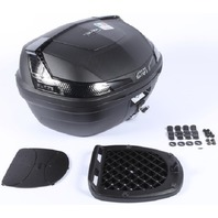 Givi B47NTML Monolock Blade Top Case Matte Tech/Smoke 47LT (Holds 2 Helmets)