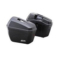 GIVI E22N Cruiser Monkey Side Cases Pair Saddlebag Flat Black 22L Capacity Each