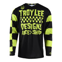 Troy Lee Designs GP Lime/Black Race Shop 5000 Motocross Jersey - Size Small