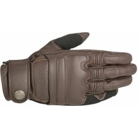 Alpinestars Oscar Mens Tobacco Brown Robinson Leather Motorcycle Riding Gloves