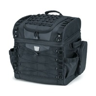 Kuryakyn 5285 Momentum Vagabond Sissy Bar Luggage Rack Bag Harley & Metric