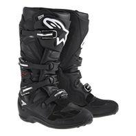 Alpinestars TECH 7 Off-Road MX Boots - CE Certified - Solid Black/ Mens 5-16
