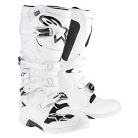 Alpinestars TECH 7 White CE Certified Off-Road Motocross Boots -Mens 5-16