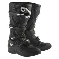 Alpinestars TECH 5 Off-Road Motocross Boots- CE Certified- Solid Black/Mens 5-16