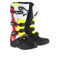 Alpinestars TECH 5 Off-Road Boots - Black/White/Red/Yellow Mens 5-16