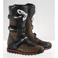 Alpinestars TECH-T All-Terrain Motorcycle Boots - Black/Brown - Mens Sizes 5-13