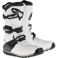 Alpinestars TECH-T All-Terrain Motorcycle Boots - White/Black - Mens Sizes 5-13