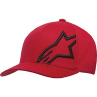 Alpinestars CORPORATE SHIFT 2 Flexfit Hat - Red - Sizes S-XL