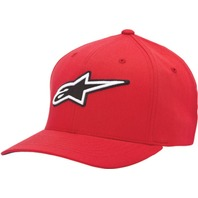Alpinestars CORPORATE Hat - Red - Sizes S-XL