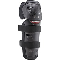 EVS Sports Option Black Knee Pads Set - Toddler, Youth and Adult