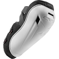 EVS Sports Option White Elbow Pad Set - Youth & Adult Sizes