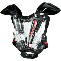 EVS Sports Vex Clear/Black Roost Guard - Youth & Adult Sizes