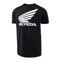 Troy Lee Designs Offically Licensed Honda Wing Black Core Fit T-Shirt - S-XL