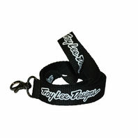 Troy Lee Designs TLD Signature Lanyard -  Black/White
