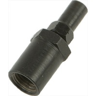 Goodridge Sniper 2 Female Straight Adapter Black 3/8-24 SN6001-02-03BDY