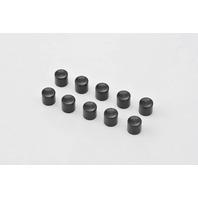 Harley Davidson Handlebar Long Black Button Switch Caps (10-Pack)