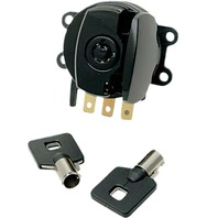 HardDrive Side Hinge Ignition Switch Only For Harley-Davidson Black 370096