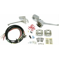 Complete Handlebar Controls W/Chrome Switches- HardDrive 26-097