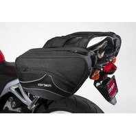 Cortech Super 2.0 36L Expandable Saddlebags w/ Quick-Release Mounting System