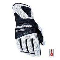 Tourmaster Intake Air Abrasion-Resistant Motorcycle Gloves - Mens XS-3XL -SILVER